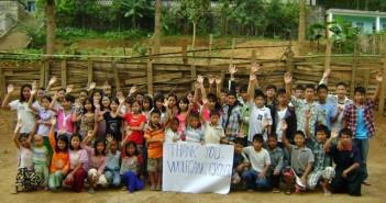 """Kürbisaktion brachte 1000 Euro für das Waisenhaus """"Traunsee"""" in Burma"""