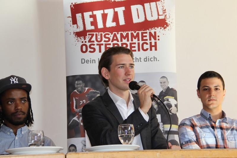 Sebastian Kurz zu Gast an den Tourismusschulen Salzkammergut