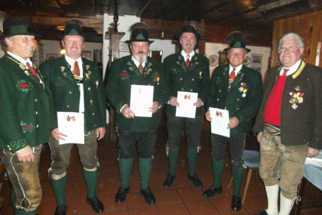25. Jahreshauptversammlung der Ischler Prangerschützen