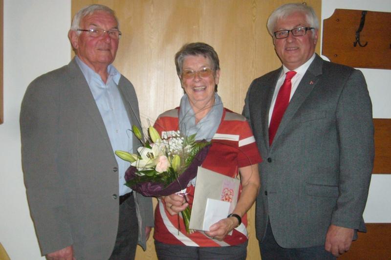 Annemarie Spitzer feiert 70sten Geburtstag