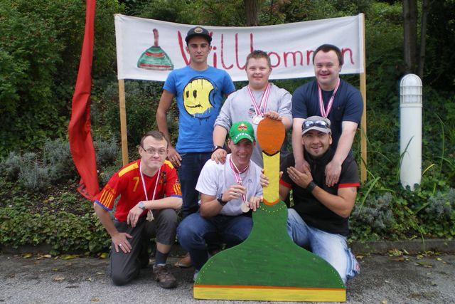 Lebenshilfe Vöcklamarkt gewinnt Gold bei Stocksportmeisterschaften