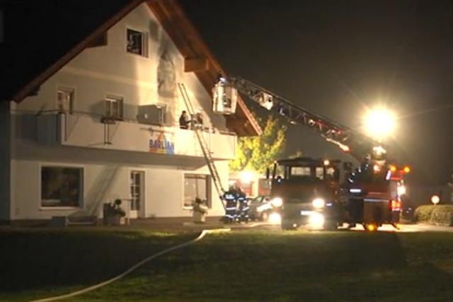 Brandalarm bei Barlian fordert Einsatzkräfte