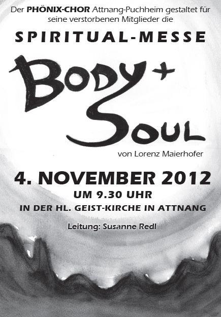Body+Soul! in der Hl. Geist Kirche in Attnang