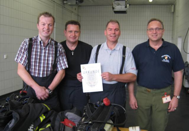 Feuerwehr Roitham erreicht erstmals Atemschutzleistungsabzeichen in Gold