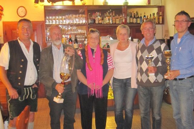 2. Ebenseer Tarock - Ortsmeisterschaften 2012 ein voller Erfolg
