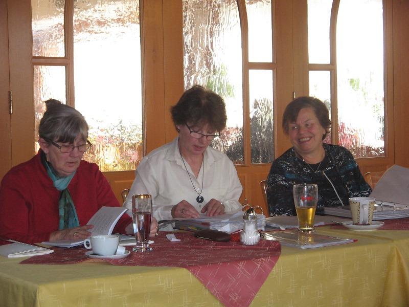 Gertrud Lahnsteiner, Maria Gaigg, Steffi Neuhuber
