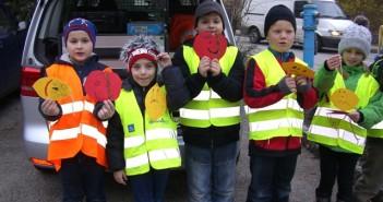 Vöcklabruck: Süßer Apfel - Saure Zitrone - Schüler als Polizeihelfer
