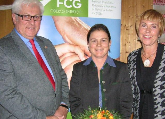FCG Regionalvorsitzende Gmunden Bettina Zopf