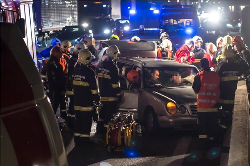 Goiserer in Unfall auf Westautobahn verwickelt