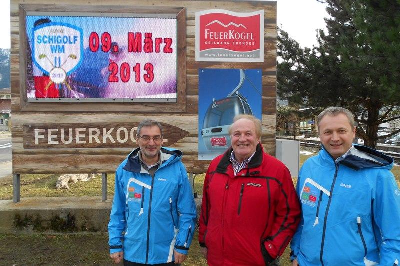 Erste touristisch genutzte Videowall im Salzkammergut in Betrieb genommen