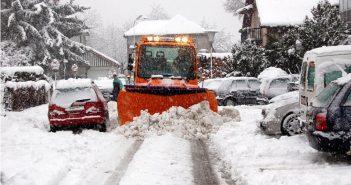 Schneeräumung für Vöcklabrucker Bauhofarbeiter große Herausforderung