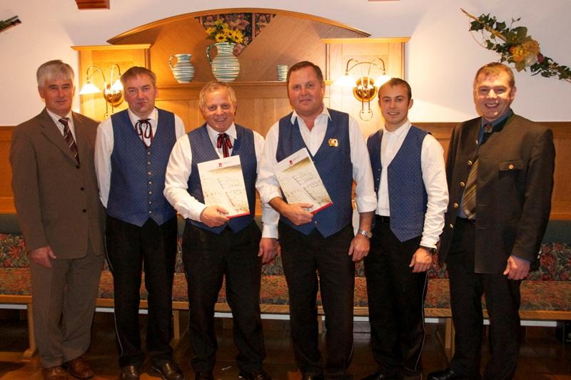 St. Konrad: Blasmusiker für besondere Verdienste ausgezeichnet