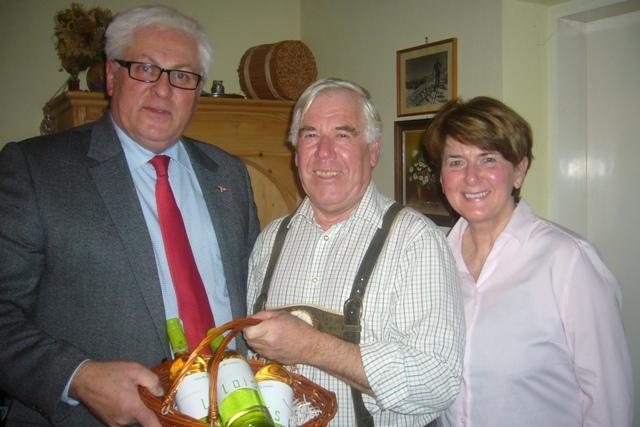 Ebensee: Gemeinderat a.D. Alois Rainbacher ein 70er