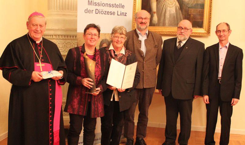 """Aktionsgruppe """"Eine Welt""""-Ebensee erhält Missionspreis 2013"""