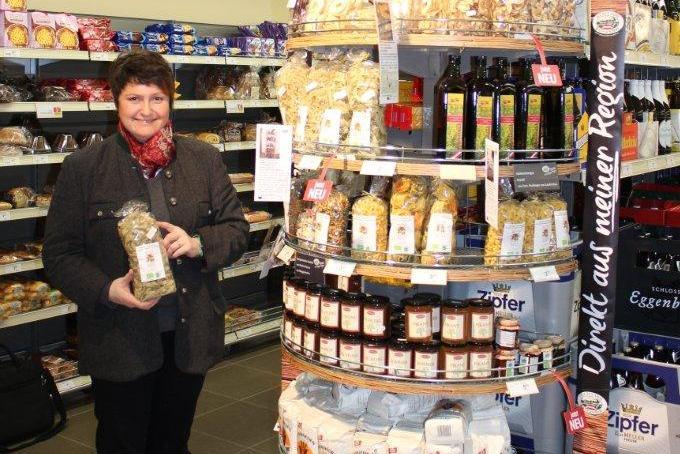 Salzkammergut: Direktvermarktung im Supermarkt bewährt sich