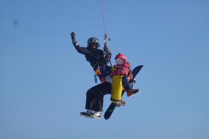 Krippenstein: zwei verirrte Snowboarder aus Bergnot gerettet