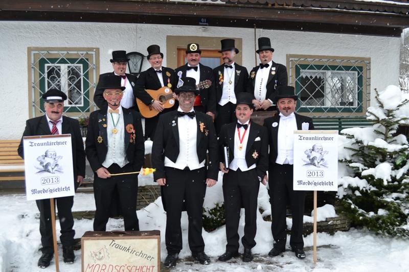 Traditionelle Mordsgschicht in Traunkirchen am Traunsee Traunkirchen