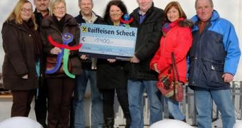 Ottnang: spontane Idee bringt 1400 Euro für krebskranke Kinder