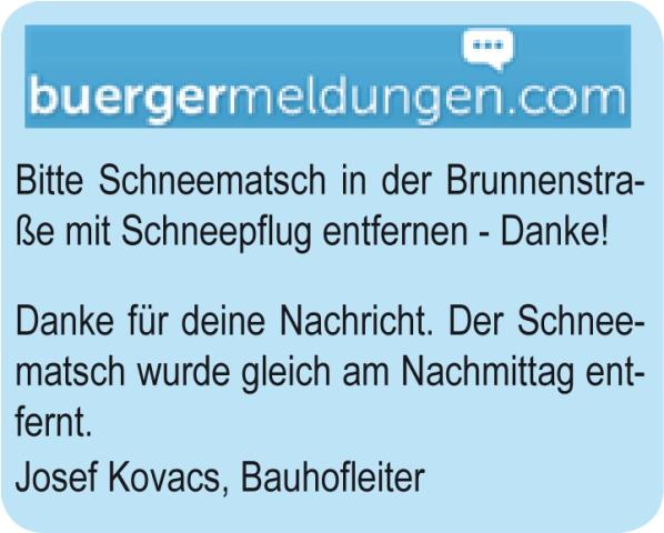 Frankenburg: Mängel werden mit der Bürgermeldung schnell behoben