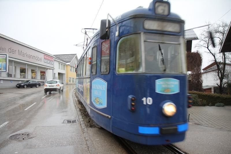 Grünes Licht für die Gmundner Straßenbahn-Verlängerung