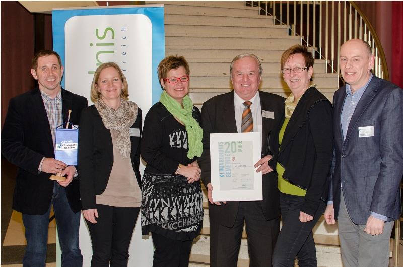 Frankenburg ist seit 20 Jahren Klimabündnisgemeinde