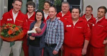 Baby Hannah im Rettungsauto zur Welt gebracht
