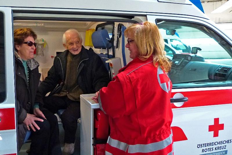 Reisen mit dem Roten Kreuz - Teilnehmer erzählen