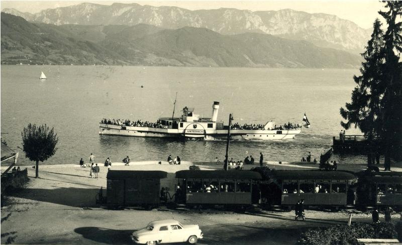100 Jahre Attersee-Schifffahrt und Attergaubahn