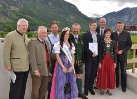 Narzissen Bad Aussee: Der erste Meilenstein der Errichtung wurde gefeiert