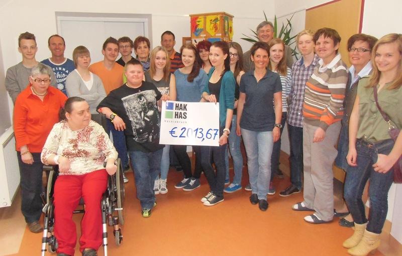 Charity-Projekt der Handelsakademie Vöcklabruck