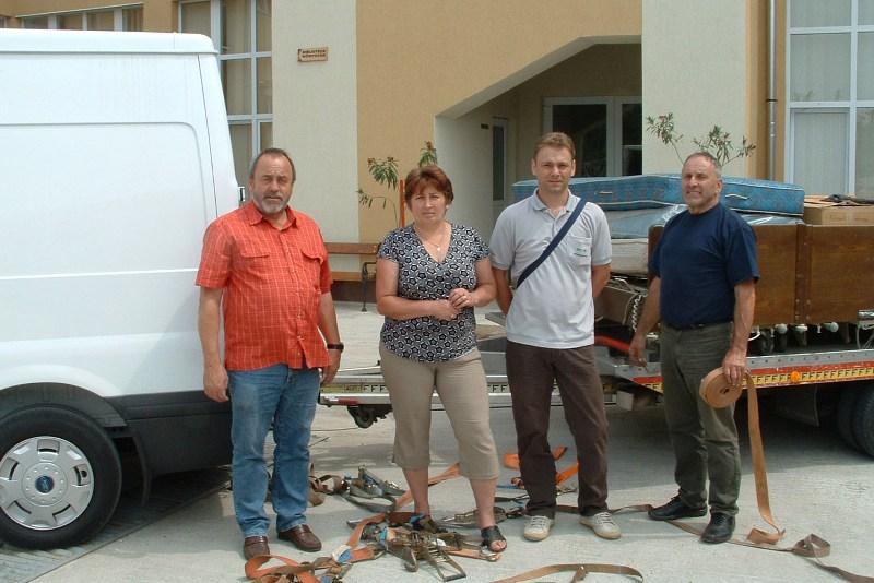 Gmunden: K.u.K. Infanterieregiment 42 hilft Bedürftigen in Rumänien