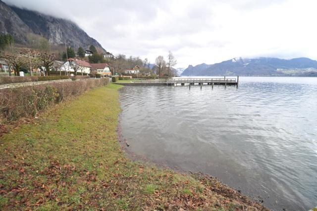 Hochwasser im Salzkammergut - Alarmgrenzen noch nicht erreicht