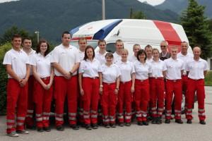 Freude über weiße Fahne beim Roten Kreuz