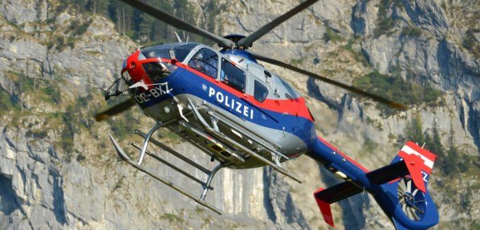 Polizeihubschrauber im Einsatz | Foto: Wolfgang Spitzbart