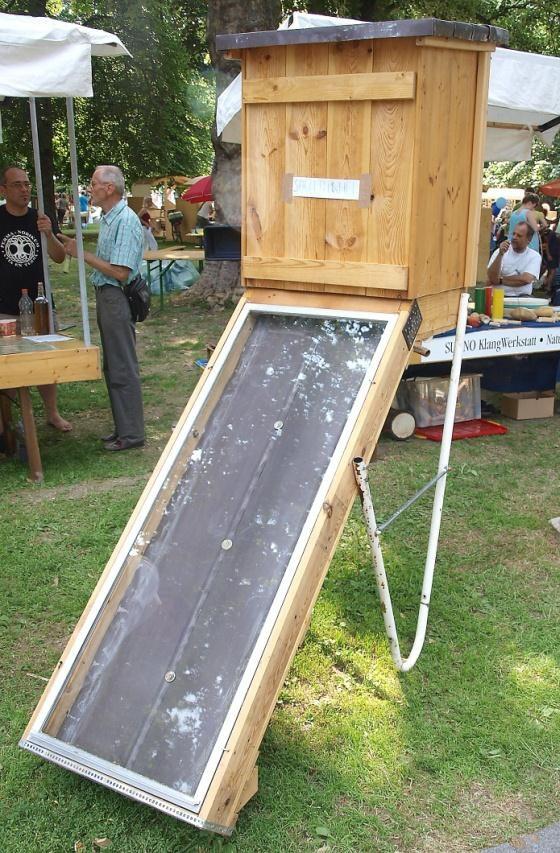 Solar-Dörrapparate selber bauen - OTELO zeigt wies geht ...