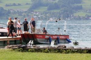 Bei 50 Meter Tauchgang - Taucher im Attersee vermisst