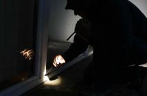 Einbrecher - Polizei im Einsatz, Einbruch in Haus