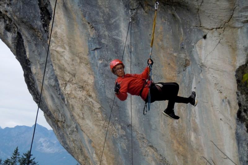 Klettersteig Bad Ischl : Sporthotelfachschüler erleben grenzerfahrungen in salzkammergut