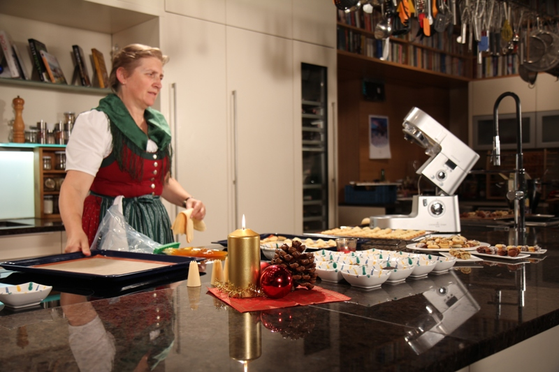 Ingrid pernkopf pr sentiert ihr neuestes kochbuch backen for Kochbuch backen