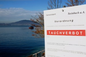 Aufwendige Bergung am Attersee - Leichnam von Taucher geborgen