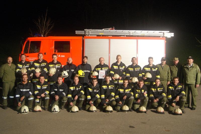 Feuerwehr Pühret besteht THL-Leistungsprüfung mit Bravour