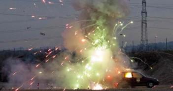 Polizei warnt vor falschem Umgang mit Feuerwerkskörpern