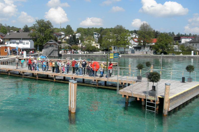 Neue Steganlage in Seewalchen feierlich eröffnet