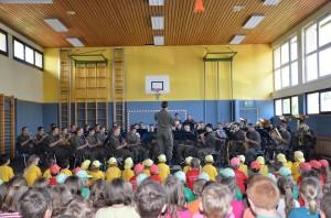 Militärmusik in Pöndorf