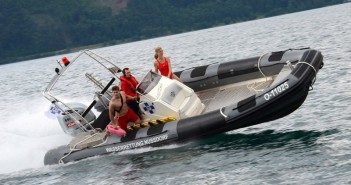 Wasserrettung Nussdorf stellt neues Einsatzboot in Dienst