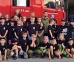 Neue T-Shirts für die Feuerwehrjugend Oberhehenfeld