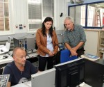 Nationalrätin besucht das BFI Metallzentrum Attnang