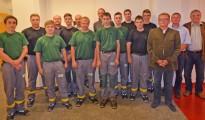 Elf Jugendliche Starten bei der UPM Steyrermühl ins Berufsleben