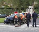 Zwei Verletzte bei Verkehrsunfall in Seewalchen (3)
