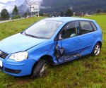 Unfall im Morgenverkehr auf Salzkammergut Bundesstraße